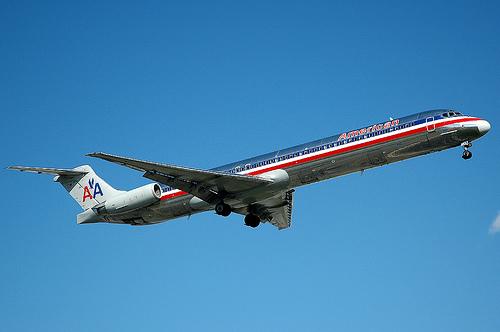 American Airlines MD-82 N455AA por caribb.