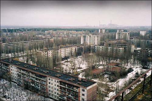 Pripyat, Chernobyl por blinkofaneye.
