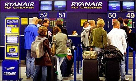 Vuelos Ryanair cancelar vuelos