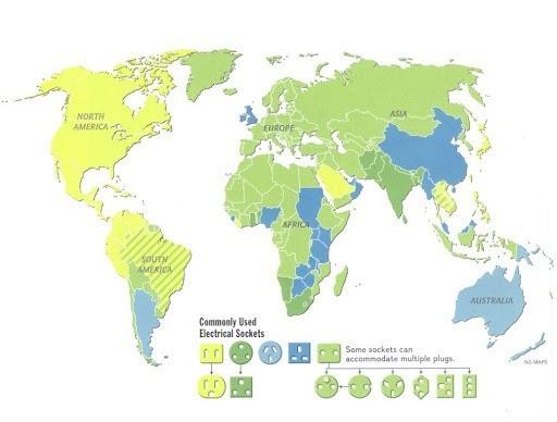 Adaptadores corriente UK, Irlanda y Malta