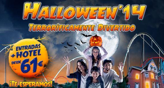 Halloween en PortAventura 2014 (ofertas)