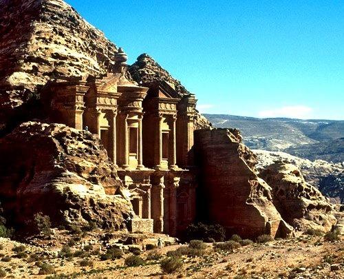 Petra, una de las 7 maravillas del mundo