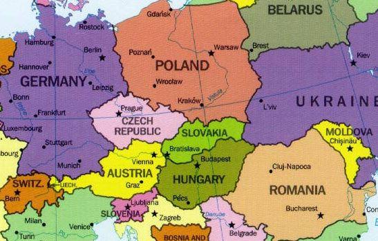 Mapa Politico De Europa Grande Para Ver Con Detalle