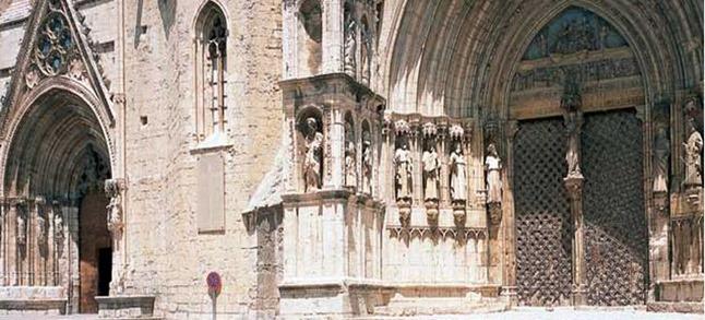 Iglesia Sta María la Mayor en Morella