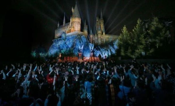 El parque temático de Harry Potter en Japón