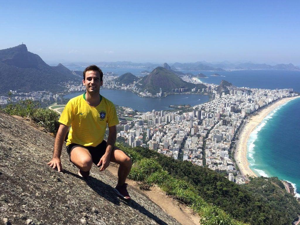 Aitor Agirre El Viajero Libre en Brasil