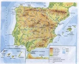 mapa-fisico-españa