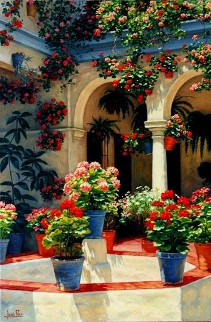 Fiesta de los patios de Córdoba|