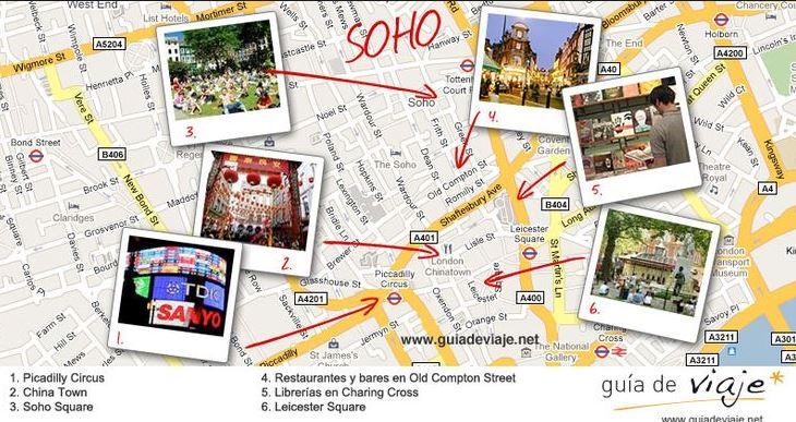 Barrios del centro de Londres 5