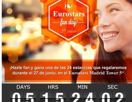 Estancias gratis en Eurostar Madrid Tower 5*