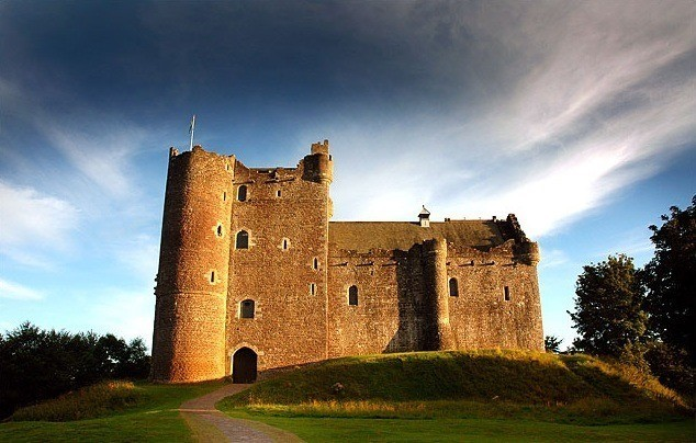 El Doune Castle en Escocia