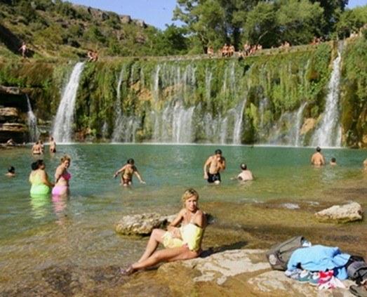 Buscador de lugares aptos para el baño en España