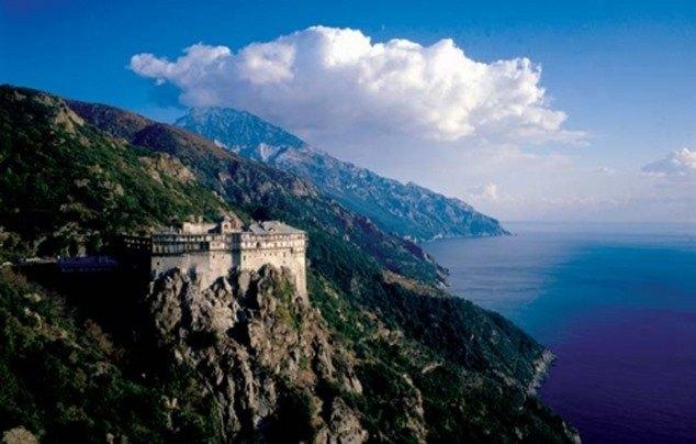 athos en Grecia