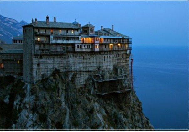 Monte Athos es Patrimonio de la Humanidad
