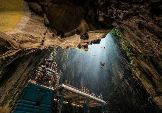 cuevas Batu en Malasia
