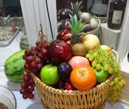frutas redondas