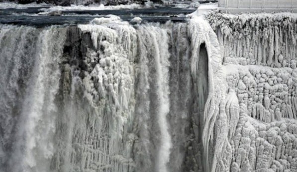 Cataratas Niágara heladas