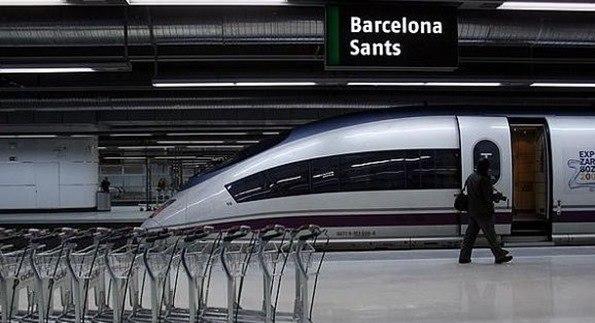 Visita par s montpellier o perpi n en tren desde for Precio tren nocturno barcelona paris