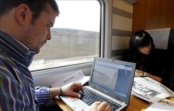 trabajar-en-el-tren