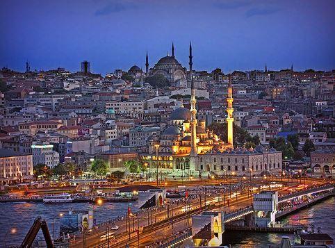 Mapa político de Europa Estambul