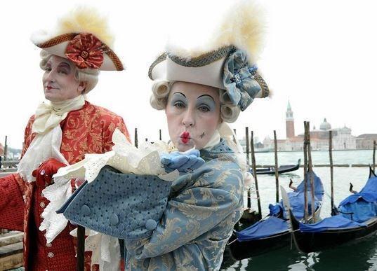 como se celebra el Carnaval de Venecia