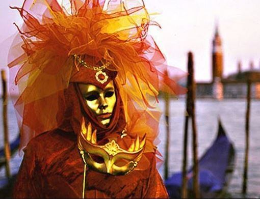 mascaras Carnaval de Venecia