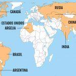 Los países más grandes del mundo 2021